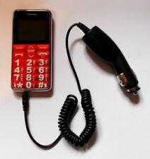 Cargador de coche para la vida/LifeLine línea 925045/A111 grande dígitos Botón Teléfono Móvil