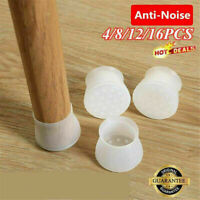 Silicone Furniture Leg Protection Cover Table Chair Feet Pad Floor Protector UK