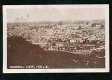 Somerset YEOVIL General view Used 1916 PPC