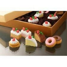 7 pieces Iwako erasers - Cake Donut (Color May Vary) S-3568 AU