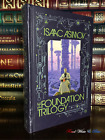 The Foundation Trilogy by Isaac Asimov New Sealed Leather Bound Gift Hardback