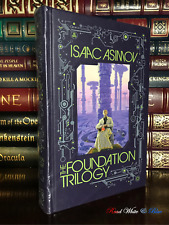 Isaac Asimov's The Foundation Trilogy New Sealed Leather Bound Gift Hardback