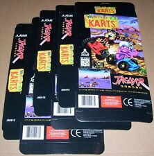 Atari Jaguar 64-Bit Games Console 3 x ATARI KARTS Game Box NEW P/N J9091E