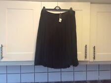 New ladies black floaty bubble hem type skirt size 14