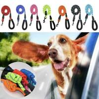 Extra Strong Reflective Rope Dog Lead With Foam Padded Handle Leash&HOT P0Z6