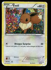 POKEMON HOLO N° 12/12 EVOLI MAC DONALD ( usé ) de 2013