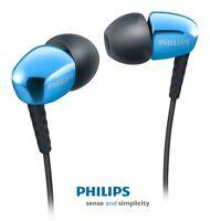 Auriculares PHILIPS SHE3900BL Con Microfono -  Sonido Potente Y Graves Profundos
