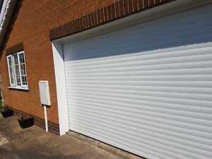 RD77 Electric Double Roller Garage Door upto 4875mm (16ft) x 2135mm(7ft)