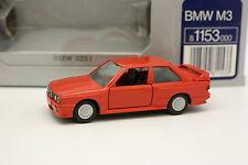 Gama 1/43 - BMW M3 E30 Rouge