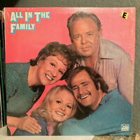 """ALL IN THE FAMILY Excerpts (Orig Shrinkwrap) - 12"""" Vinyl Record LP - EX"""