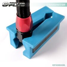 US Plastic Vise Jaw Protective Inserts with Magnetic for AN Fittings Blue