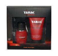 TABAC Man Fire Power 30ml EDT & 75ml Shower Gel / Shampoo Geschenkset