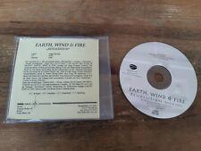 CD Pop Earth Wind & Fire - Revolution/ Radio Edit (1 Song) Promo EAGLE REC sc