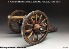 Artillery, Cannon Tin toy soldier 54 mm, figurine, metal sculpture HAND PAINTED