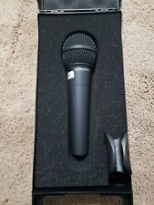 Behringer ULTRAVOICE XM8500 Dynamic Vocal Microphone Cardioid - Black/Silver