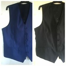 Polyester Button Waistcoats for Men
