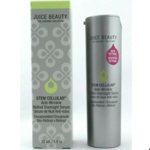 Juice Beauty Stem Cellular Anti-Wrinkle Retinol Overnight Serum 1.0 oz. New