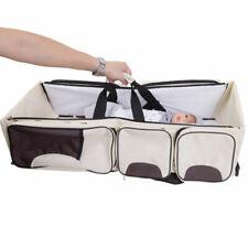 Travel Foldable Baby Crib Bag Multifunction Portable Baby Sleeping Bag 2in1 Bed