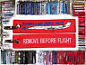 Keyring Embraer E-145 for Pilot Remove Before Flight tag keychain tag