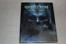 ARTBOOK from WITCHER 3 WITD HUNT COLLECTOR'S POLISH EDITION