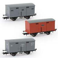 1pc/3pcs HO Scale 1:87 20ft Box Car Wagon 20' Railway Carriage Rolling Stock