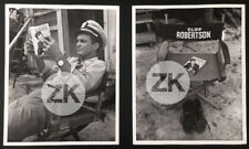CLIFF ROBERTSON PT 109 John F. KENNEDY Pacific War WWII Tournage  2 Photos 1963