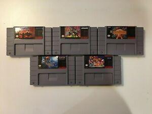 Nintendo SNES [Reproduction, Not Original] Games You Pick - Free Sticker