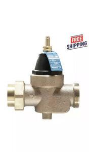 "Watts Water Pressure Reducing Valve 3/4"" LFN45BM1-U New 25 to 75psi Lead Free"