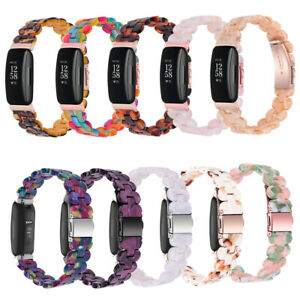 Resin Bracelet Watch Replacement Wristband Strap For Fitbit Inspire 2/Inspire/HR