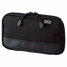 LIHIT LAB. Compact pen case smart fit Akutakuto black A7687-24