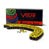 Volar O-Ring Motorcycle Chain - Yellow for 520 x 110 Links
