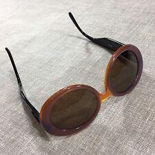 KRIZIA rare vintage 80s sunglasses ROUND Frames glasses ORIGINAL LENSES 54