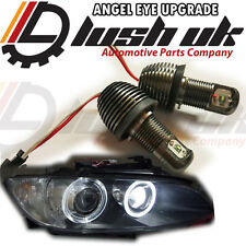 * BMW 10W CREE X5 E70 X6 Angel Eyes H8 LED Marker Bulb RINGS XENON WHITE DIPPED