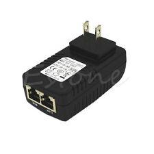 48V 0.5A POE Injector Power Over Ethernet Adapter For 802.3 af IP Camera Wlan US