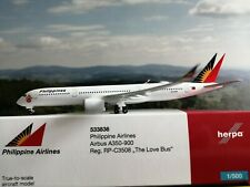"Herpa Wings 1:500 Philippine Airlines Airbus A350-900 ""The Love Bus"" (533836)"