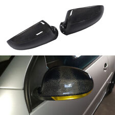 Replacement Side Mirror Covers Cap 2PCS Fit for VW Golf 5 V MK5 GTI Carbon Fiber