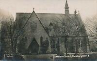 SHOEBURYNESS – Garrison Church Real Photo Postcard rppc – Essex – England - 1916