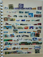 Vintage Hygrade 1210 Supreme Stamp Stock Book WITH stamps Mixed lot 2 pages full