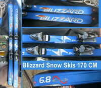 snow skis Blizzard 170 CM Made in Austria w Bindings 6.8 in San Diego