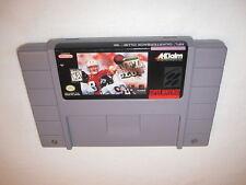 NFL Quarterback Club '96 (Super Nintendo SNES) Game Cartridge Excellent!