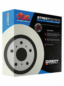 2 x DBA Standard Rotor FOR DAIHATSU TERIOS J1_ (DBA496)