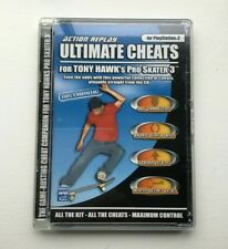 Action Replay Ultimate Cheats for Tony Hawk's Pro Skater 3 (PS2) - eBay tracked