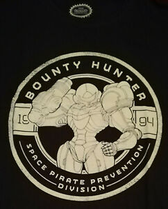 °OFFICIAL NINTENDO METROID T-SHIRT° Bounty Hunter  Große M