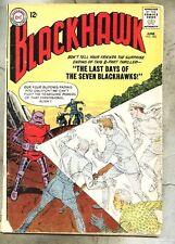 Blackhawk #185-1963 gd+ Dick Dillin Charles Cuidera