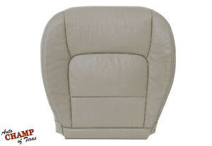 For 1998 to 2007 Lexus LX470 -Driver Side Bottom Genuine Leather Seat Cover Tan