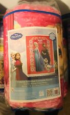 "disney frozen blanket 59x78"" Twin Size -Brand New!"