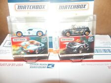 4- 65th Anniver. Matchbox Globe Travelers Mini Coop + Ford GT + Lambro + Rover