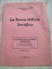 1946 PADRE COLUMBA BY GHEDI: THE TERZ'ORDER FRANCISCAN THIRD MILITIA SERAFICA