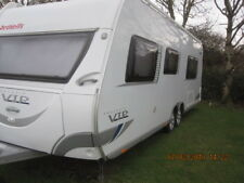 Twin wheel Dethleffs caravan exclusive VIP