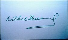 RICHIE BENAUD - AUSTRALIA TEST CRICKETER 1952-64 - INK AUTOGRAPH